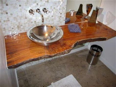 Vanity Slab by Wood Slab Vanity Bathroom Design Ideas Pictures Remodel
