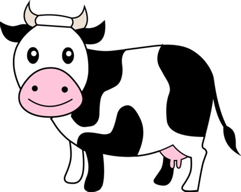 Dairy Cow Clipart black and white dairy cow free clip