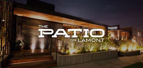 Patio On Lamont The Patio Restaurant Development Hospitality Ani