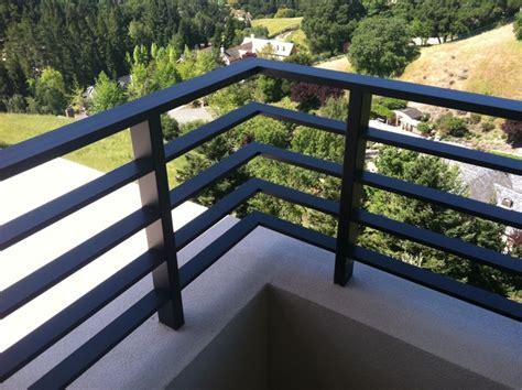 Flat Metal Deck Balusters Aluminum Flat Bar Deck Rail