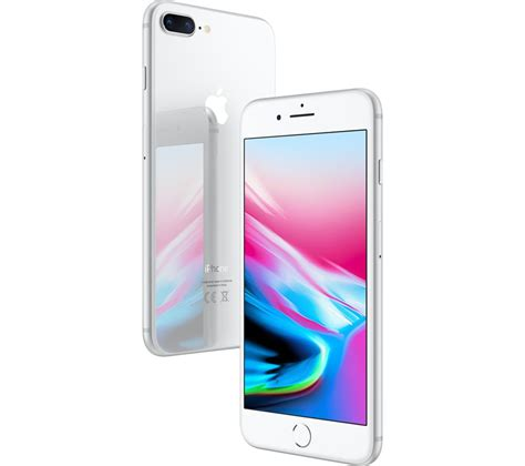 buy apple iphone 8 plus 256 gb silver free delivery currys