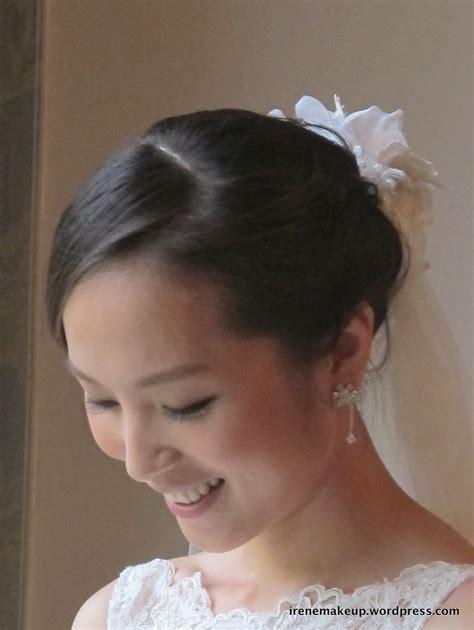 Asian Wedding Hairstyles 2012 Bridal Hairstyles Classic Sleek Updo 新娘盘头发型