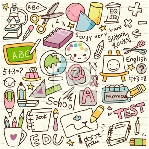 doodle edit picture doodle back to school wall mural pixers 174 we live