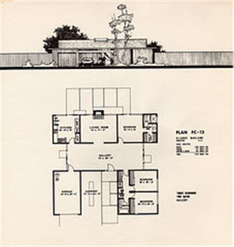 joseph eichler floor plans eichler floorplans house plans home designs