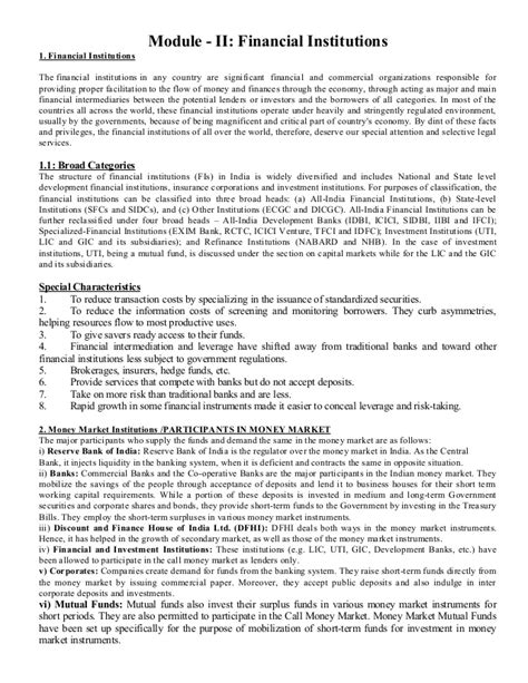 Strategic Cost Management Notes For Mba by Financial Markets And Institutions Notes As Per Bput