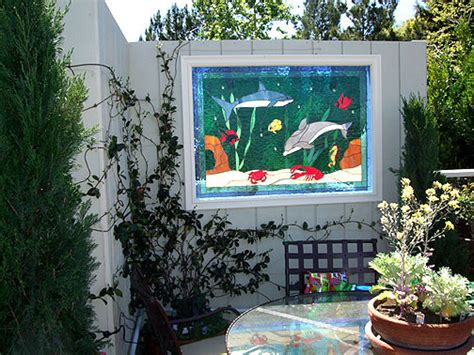 Tropical Outdoor Decor by Stained Glass Outdoor Decor Tropical Outdoor Products