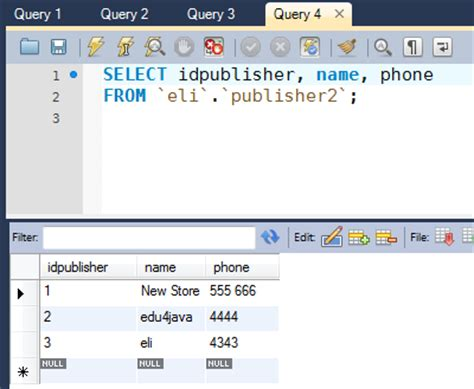 Sql Select Into New Table by Insert Into Insert Into Select With Mysql Workbench