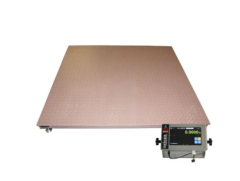 floor scales with large graphics lcd digital display