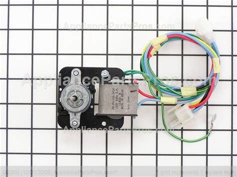 frigidaire evaporator fan motor frigidaire 241854301 evaporator fan motor