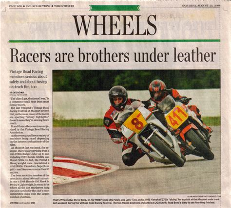 wheels section toronto star dirty girl motor racing in the media