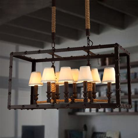 Dining Room Ceiling Lights Ikea Vintage Furniture Industrial Cloth Cover Chandelier