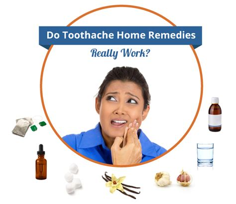 do toothache home remedies really work remedy