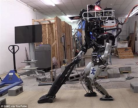 home cleaning robots google atlas robot can now clean his own room