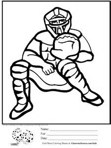 catcher coloring pages coloring pages for boys baseball catcher for school