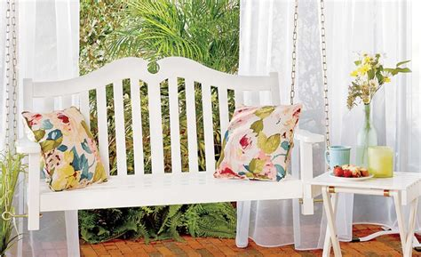 how to hang porch swing how to hang a porch swing improvements blog