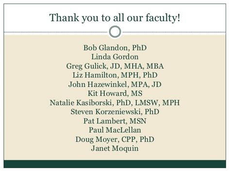 Phd Mph Mba by Michigan State Program In Health