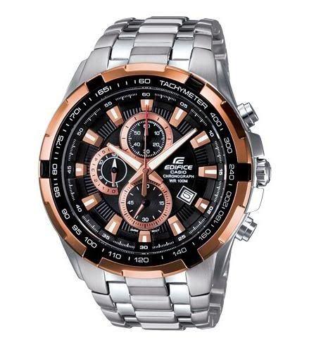 Jam Tangan Jenama Casio jam tangan casio edifice chrono black ef 539d 1a5w