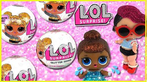 Egg Dolls Lol Anniversary Edition Glitter Serie Lol Glitter Series Baby Doll Toys Cry
