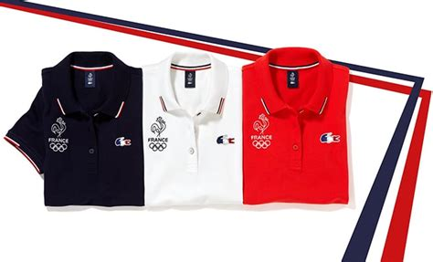 Promo Gamis Polos Wollfis Limited collection olympique homme de lacoste pour 2016
