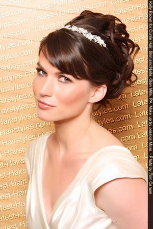 wedding hairstyles for medium length hair fashion in wedding