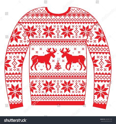 susan reindeer pattern christmas jumper ugly christmas jumper sweater reindeer snowflakes stock
