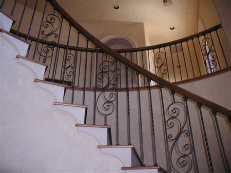 Railings For Stairs Inside Interior Stair Railing