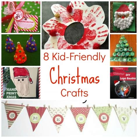 8 kid friendly christmas crafts craftbits com