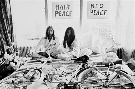 bed in for peace today is the anniversary of john lennon and yoko ono s bed