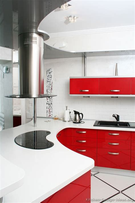 red kitchen furniture pictures kitchens modern red kitchen cabinets pictures