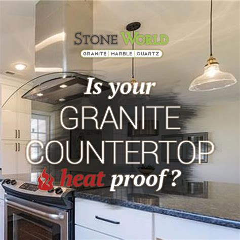Heat On Granite Countertops by Granite Countertop Is Heat Proof Right World Tn