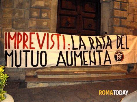 equitalia uffici roma blitz di casapound italia contro la crisi economica