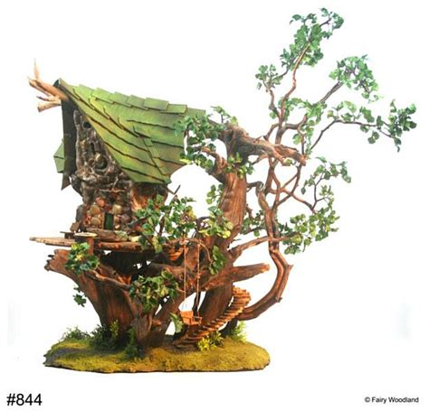 real treehouse fairy houses by fairy woodland