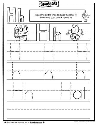 printable letter h tracing worksheets for preschool letter h tracing worksheets for preschool kids under 7