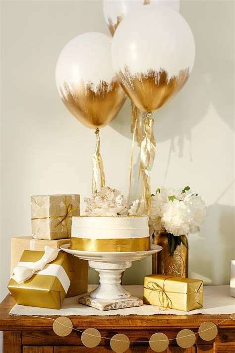 Gold Baby Shower by How To Throw The Gold Baby Shower Recipes And