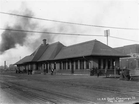 image gallery illinois central railroad depot