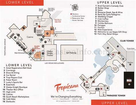 Mandalay Bay Floor Plan by Las Vegas Casino Property Maps And Floor Plans