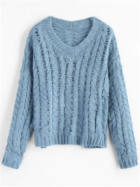 Blue Sweater blue knit sweater fashion skirts