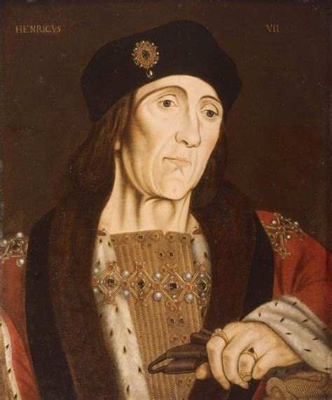 tudor king king henry vii father of henry viii and arthur prince of