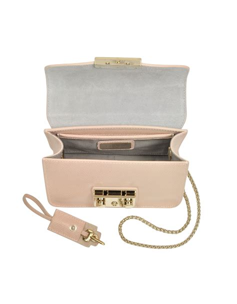 Furla Metropolis Mini Crosbody Include Box furla metropolis magnolia leather mini crossbody bag in