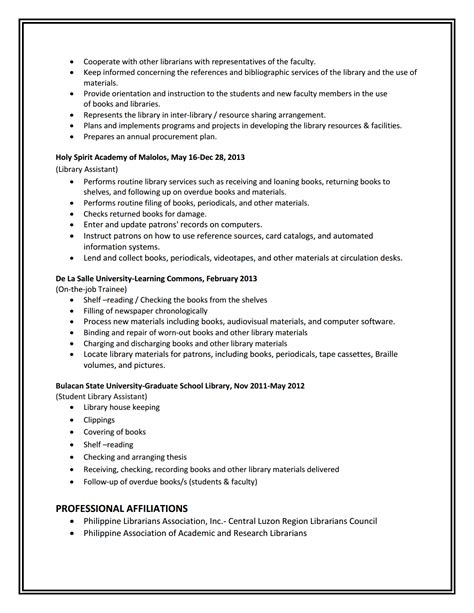 library shelver cover letter 100 librarian description resume librarian