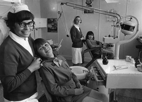 Nursing School New Zealand - dental nursing ōtaki school 1971 dental care te ara