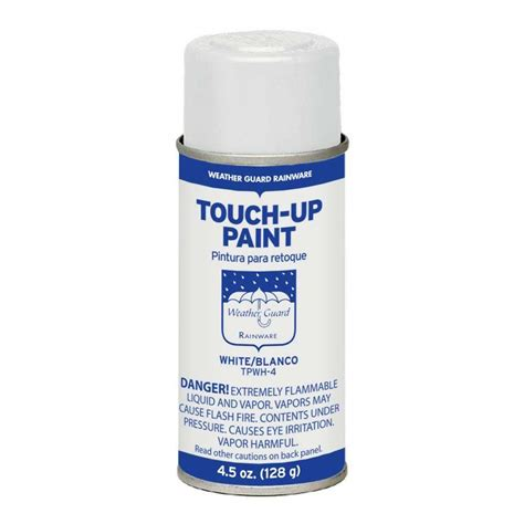 home depot car touch up paint gibraltar building products 4 5 oz white touch up spray
