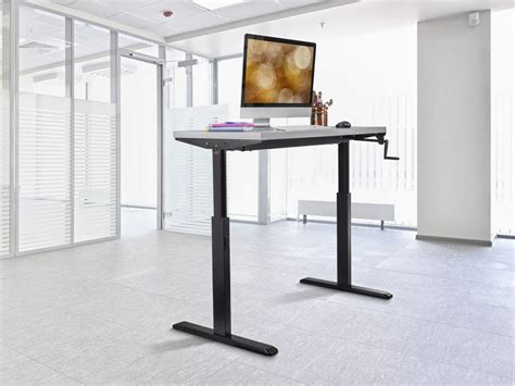 Best Standing Desks 2017 Eliminating Unwanted Body Workfit D Sit Stand Desk