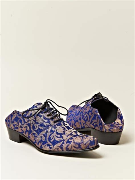 womens blue oxford shoes haider ackermann womens babouche style oxford shoes in
