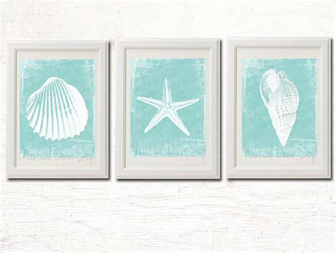 Printable beach decor bathroom instant by nauticaldecorshop