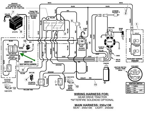 deere 140 lawn tractor wiring diagram wiring