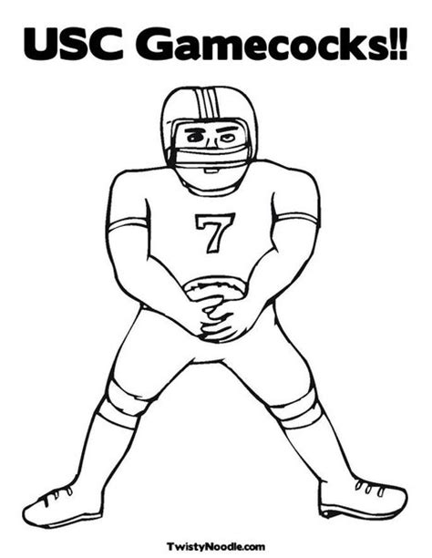 free coloring pages of gamecock
