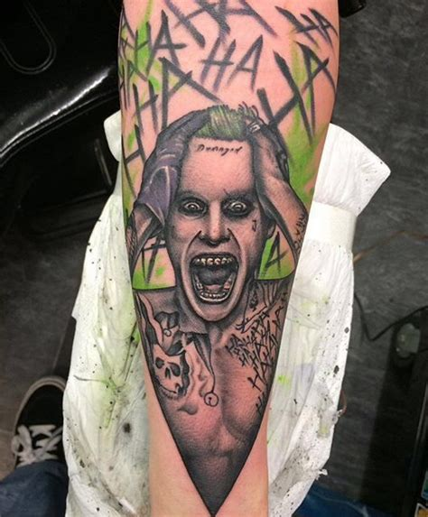 joker tattoo design jared leto joker jared leto