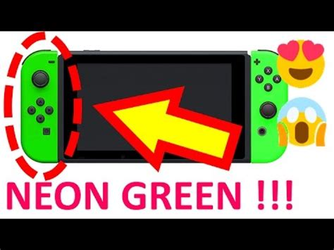 Nintendo Switch Neon Blue neon green nintendo switch unboxing limited edition only 1000 available worldwide review