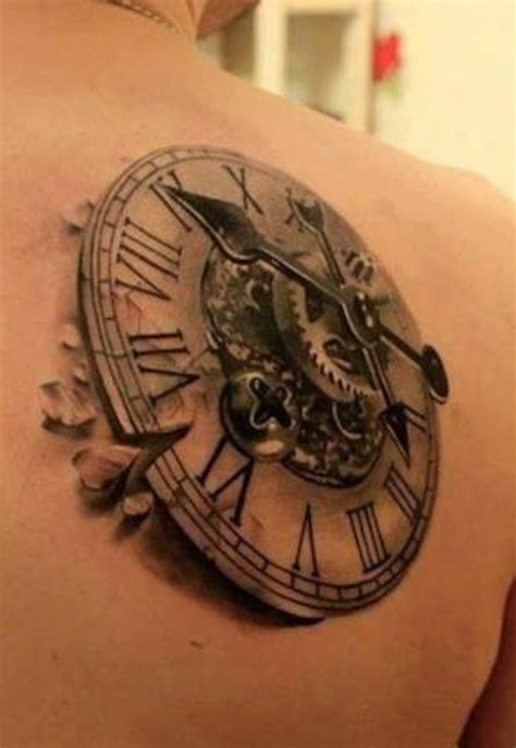 3d art tattoo design clock tattoos designs ideas and meaning tattoos for you
